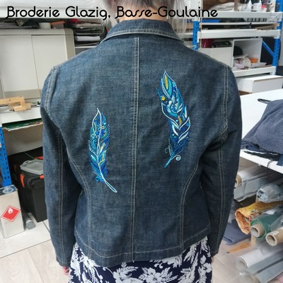 Broderie Glazig, Basse-Goulaine